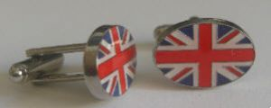 Great Britain Union Jack Country Flag Cufflinks